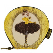 Santoro Mirabelle Curved Flat Purse - Marionette