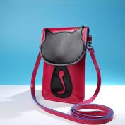 Hunpta Cute Cartoon Purse Bag Leather Cross Body Shoulder Phone Coin Bag