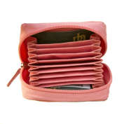 Soft Quality Leather Fan Multi Credit Card Holder Palm Wallet by Prime Hide