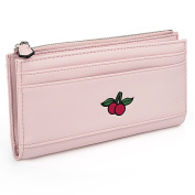UTO Women's PU Leather Wallet Card Holder Organiser Girls Cute Fruit Small Coin Purse