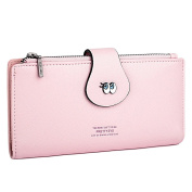 UTO Women's Cute Eyes Faux Leather Wallet Purse Card Holder Coin Organiser