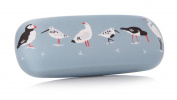Rspb Birds O/C Glasses Case Blue 16