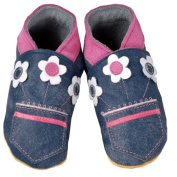 Daisy Roots Denim Flower Baby Shoes