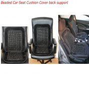 Universal Beaded Car Seat Cushion Comfortable Back massage Wooden Bead Cover Van