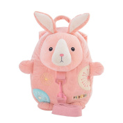 Metoo Baby Anti-lost Toddler Safety Harnesses Cartoon Rabbit Bunny Backpack Baby Leashes Bag
