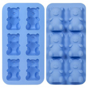 Gummy Bear Ice Shots Jelly Silicone Mould Tray Oven & Freezer Use
