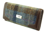 Ladies Long Wallet Purse Harris Tweed LB2000