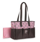 Baby Boom 6 Pocket Tote Nappy Bag, Monkey