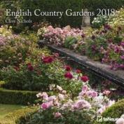 English Country Gardens 30 x 30 Grid Calendar 2018