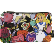 Loungefly Alice In Wonderland Character Coin/Cosmetic Bag