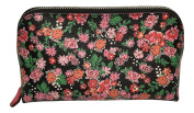 Coach Small Cosmetic Case - Pansy Cluster Floral Print F57597
