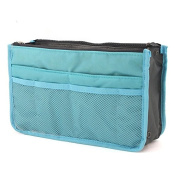 LQZ Travel Cosmetic Bag Makeup Case Pouch Toiletry Zip Wash Organiser Multifunction