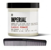 Imperial Barber Products Classic Pomade 180ml with BraidZ Comb by Imperial Barber