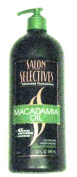 Salon Selectives Macadamia Oil Hair Conditioner Large 950ml with Pump
