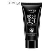 BIOAOUA(TM)NEW Blackhead Remover Skin Care Cream Deep Clean Purifying Peel Black Mud Face Mask for Face Nose