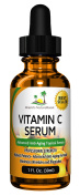 Best Seller Vitamin C Serum with Hyaluronic Acid - Stimulates Collagen for Anti-Ageing Repairs Dark Circles Around Eyes and Sun Damage for Skin Face Fades Age Spots and Wrinkles 30ml High Potency Serum
