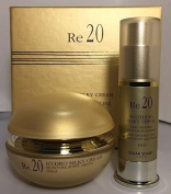 OMAR SHARIF Re 20 SILKY CREAM (60ml) & SHOOTING SILKY SERUM (15ml) SET