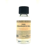 Pine Perfume Oil for Perfume Making, Personal Body Oil, Soap, Candle Making & Incense; Splash-On Clear Glass Bottle. Premium Quality Undiluted & Alcohol Free