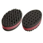 Toolcool Magic Twist Hair Curl Sponge Brush Coil Wave for Natural Hair