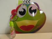 Froggy Coin Purse with Vanilla Lip Gloss