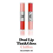 Chosungah22 Dual Lip Tint & Lip Gloss 5.4g(Tint 2.7 g + Gloss 2.7 g) / #Chiffon