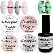 SHEBA NAILS Luna Gelcrylic Glow In The Dark Acrylic Powder Kit