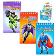 Super hero Notebook - PACK OF 24 by Playwrite