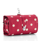 reisenthel Wrapcosmetic Cosmetic Travel Organiser, Ruby Dots