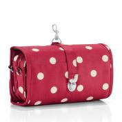 reisenthel Wrapcosmetic Cosmetic Travel Organiser, Ruby Dots