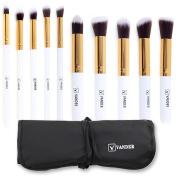 Vander Makeup Brush Set Premium Synthetic Kabuki Cosmetics Foundation Blending Blush Eyeliner Face Powder Brush Makeup Brush Kit With Pouch