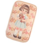 Afrocat Paper Doll Mate Multi Pen Pouch L Ver2 Multipurpose Case Bag (Sally