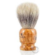 Vie-Long 13070 Horse Hair Shaving Brush, Wood Handle