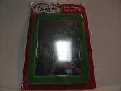 Magnetic Green Rectangular Mirror