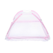 Baby Mosquito Net Ger Tape Portable Bottomless Baby Bed Net with Stand