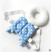 Baby Toddler Head Protect Pillow Pad Head Protective Headrest Pillow Infant Neck Cute Wings Nursing Drop Resistance Cushion