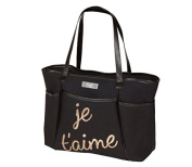 Bumble Collection Je Taime Sequin Zipper Tote
