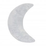 Oilo Moon Pillow, Aqua