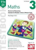11+ Maths Year 5-7 Testbook 3