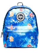Hype Backpack Bags Rucksack - Pokemon Ocean Space Design - Ideal School Bags - For Boys and Girls - Pokemon Ocean Space
