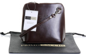 Genuine Italian Leather, Small/Micro Cross Body Bag or Shoulder Bag Handbag. Includes a Branded Protective Storage Bag.