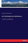 Zur Psychologie Des Individuums [GER]