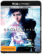 Ghost In The Shell 4K Blu-ray  [2 Discs] [Region B] [Blu-ray]