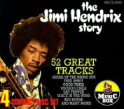 THE JIMI HENDRIX STORY  52 GREAT TRACKS