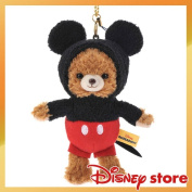 As for uni-with base-up city key ring key chain stuffed toy, it is Mickey Mocha