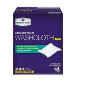 Member S Mark Adult Washcloths (240 Ct.) New