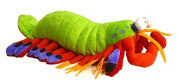 Adore 36cm Harlequin The Peacock Mantis Shrimp Plush Stuffed Animal Toy Stuffed