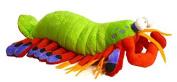 Adore 36cm Harlequin The Peacock Mantis Shrimp Plush Stuffed Animal Toy Stuffed