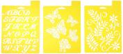 Delta Creative Stencil, 18cm By 25cm , 970950056 Garden