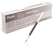 Pentel Refill Ink For Bl57/bl77 Energel Liquid Gel Pen, Box Of 12, 0.7mm, New