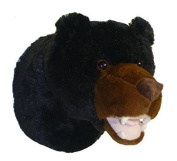 Adore 33cm Tahoe The Black Bear Plush Stuffed Animal Walltoy Wall Mount Stuffed